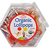 1 Personal Bin 30 Organic Lollipops ( Value Bulk Multi-pack)