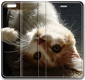 Animals Playful Cat Animal Case for iPhone 6 Plus 5.5 inch(Compatible with Verizon,AT&T,Sprint,T-mobile,Unlocked,Internatinal) in GUO Shop