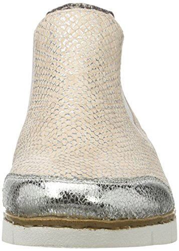 Rieker M1394, Botines para Mujer Multicolor (Silber/ROSE-SILVER/altgold / 90)