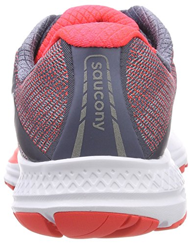 Saucony Wht Fog Women's Shoes Off Ride Running 8 White Red Viz 10 080nOrxq