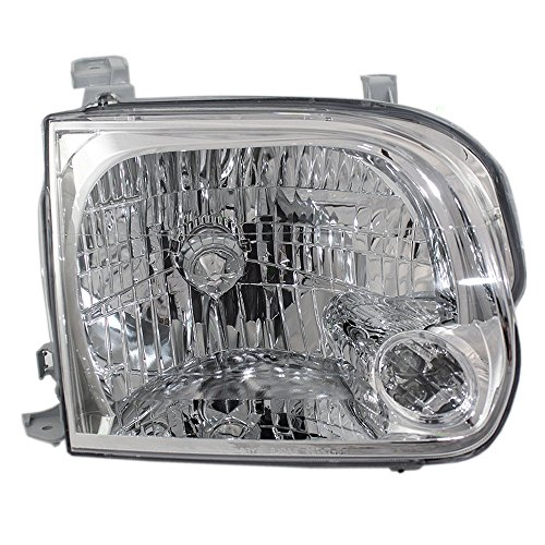 Passengers Headlight Headlamp Lens Replacement for Toyota Pickup Truck SUV 811100C031