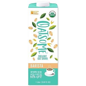 Oatsome Barista Organic Oat Milk