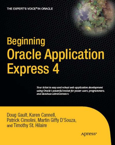Beginning Oracle Application Express 4 (Expert's Voice in Oracle) Pdf