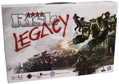 Risk: Legacy Boardgame WOCA53010000 Wizards of the Coast Gam