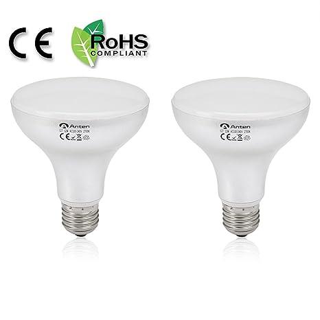 Lote de 2 bombillas LED foco 12 W E27 1020lm 180 ° anchos faisceaux SMD2835 *