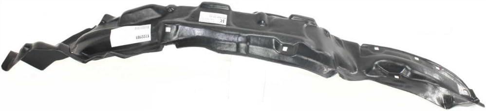 Fender Liner Compatible with 1999-2002 Toyota 4Runner Plastic Front Passenger Side