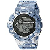 Burgmeister Men's BM803-023 Digital Display Quartz Blue Watch