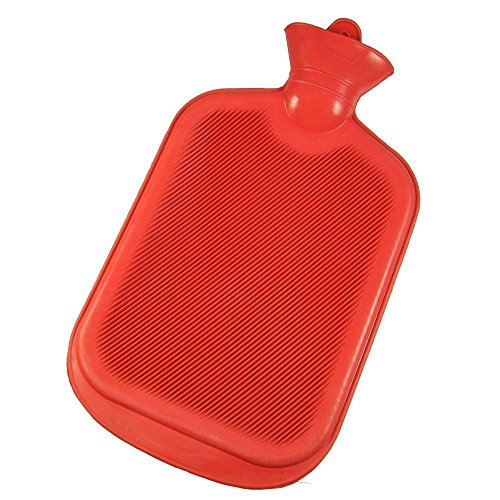 AKH69 Hot Water Bag for Pain Relief,) Non-Electrical Thick Rubber Water Filling Hot Wate Multicolor (2 Litre)- Pack of 1