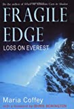 Front cover for the book Fragile Edge by Maria Coffey