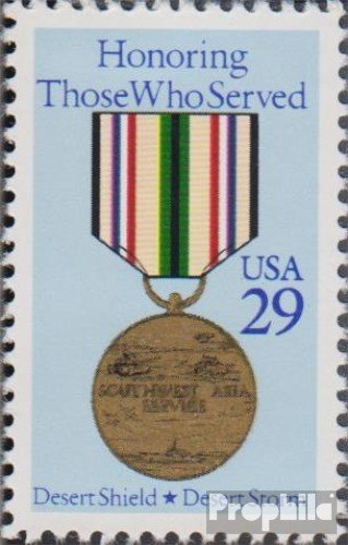 U.S. 2153A (Complete Issue) 1991 Liberation Kuwaits (Stamps for Collectors) Military