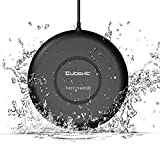 #1: Cubevit [IPX5 Waterproof] Fast Wireless Charger, 7.5W Qi Fast Wireless Charging Pad for Apple iPhone X 8 8 Plus, 10W Fast Charge for Samsung Galaxy S9 S9 Plus Note 8/5 S8 S8 Plus S7 Edge S6 Edge Plus