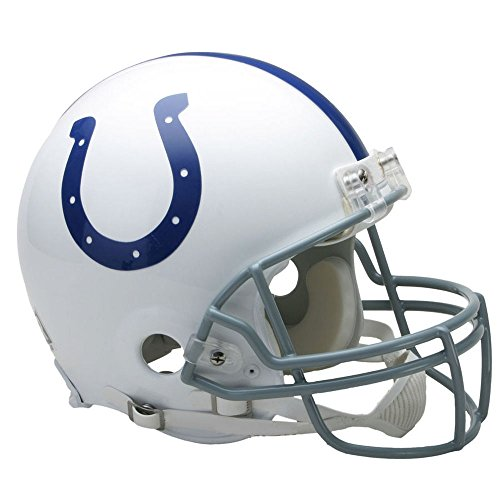 Indianapolis Colts Officially Licensed NFL Proline VSR4 Authentic Football Helmet by Riddell