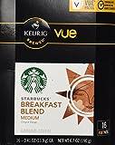 32 Count - Starbucks Breakfast Blend Coffee Vue Cup For Keurig Vue Brewers