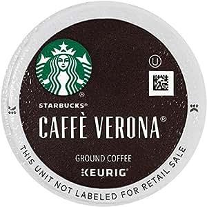 Starbucks Caffe Verona Dark, K-Cup for Keurig Brewers, 24 Count