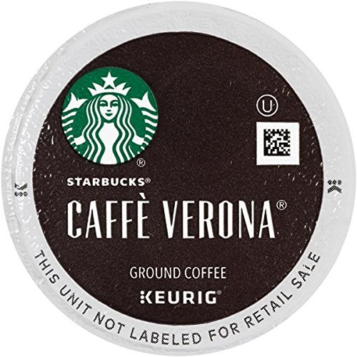 Starbucks Caffe Verona Dismal, K-Cup for Keurig Brewers, 24 Count