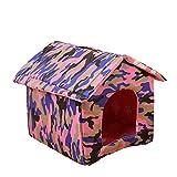 Legendog Pet House Dog Cat house Fashion Foldable Detachable Washable Pet Nest Pet Cave for Dogs Puppy Cats Kittens