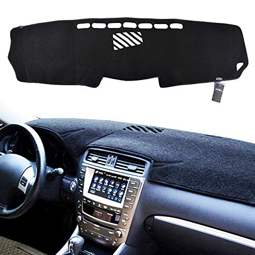 XUKEY Dashboard Cover for Lexus is 250 350 is F 06-13 Dash Cover Mat (Is250 Accessories)