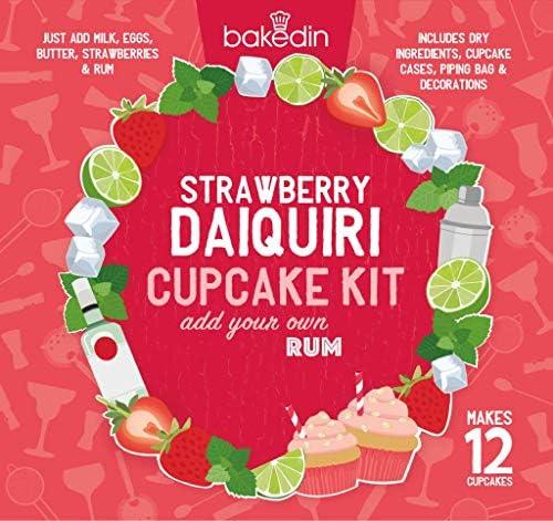 Strawberry Daiquiri - Kit de 12 pasteles