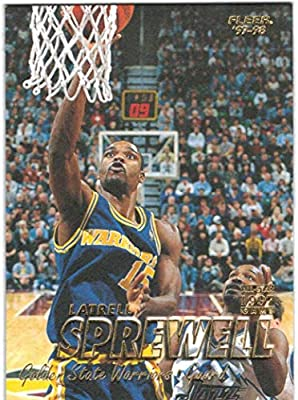 1997-98 Fleer Series I   II Golden State Warriors Team Set with 2 Latrell  Sprewell   2 Joe Smith - 12 NBA Cards 04ea9f122