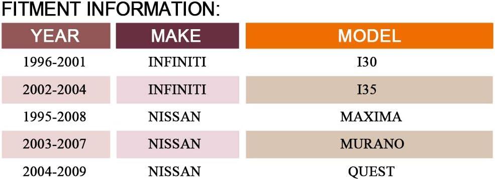 Infiniti 1996-2001 I30,2002-2004 I35 DRIVESTAR 419-624 Drive Belt Idler Pulley for Nissan 1995-2008 Maxima,2004-2009 Quest,2003-2007 Murano