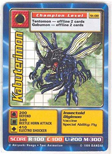 - Digimon Card - Kabuterimon St-08 - Champion Level