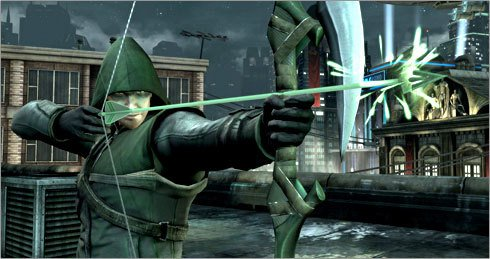 Injustice : Gods Among Us - The Arrow (Arrow TV Show) Green Arrow Multiplayer Playable Character Skins DLC Code Card LIMITED EDITION (ONLY 5,000 MADE) XBOX 360 (Injustice Gods Among Us Codes Xbox 360)