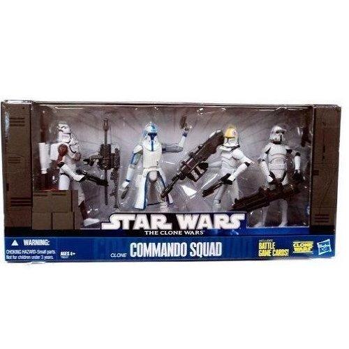 Star Wars Clone Wars Exclusive Set Commando Squad ()