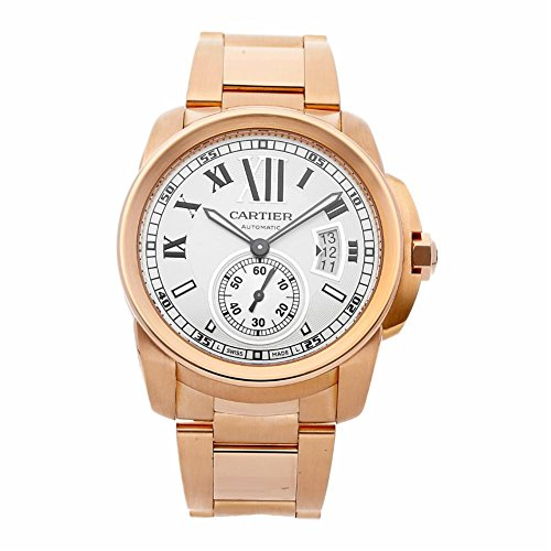 Cartier Calibre de Cartier Automatic-self-Wind Male Watch W7100018 (Certified Pre-Owned)