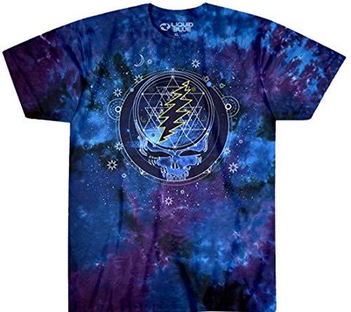 (Tie Dyed Shop Cotton Mystical Stealie Grateful Dead Tie Dye T Shirt 4X)