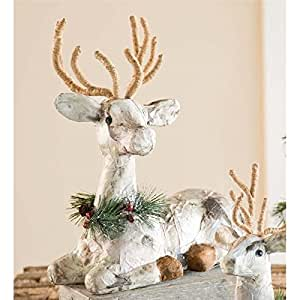 how to make a paper mache reindeer