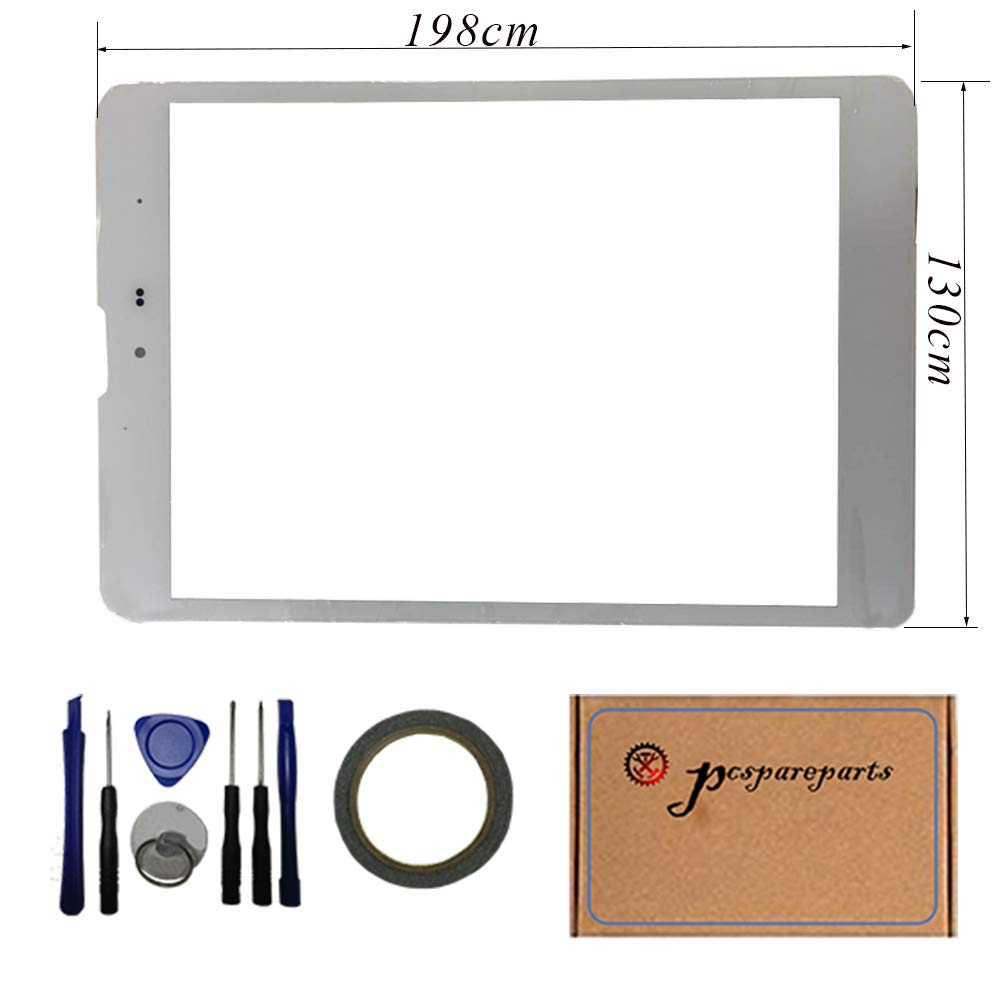 pcspareparts-Replacement White Digitizer Touch Screen panel For Trio AXS 4G 7.85'' inch Tablet pc