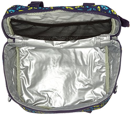 Nocturnal cm Craft Cartable Kipling Bleu liters Navy Eye 25 C 8 Miyo Multicolore 50BnqngxP