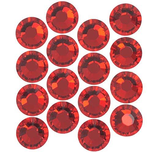 (SWAROVSKI ELEMENTS Hotfix Crystal Flatback Rhinestones #2038 Xilion Rose SS20 Light Siam (50))
