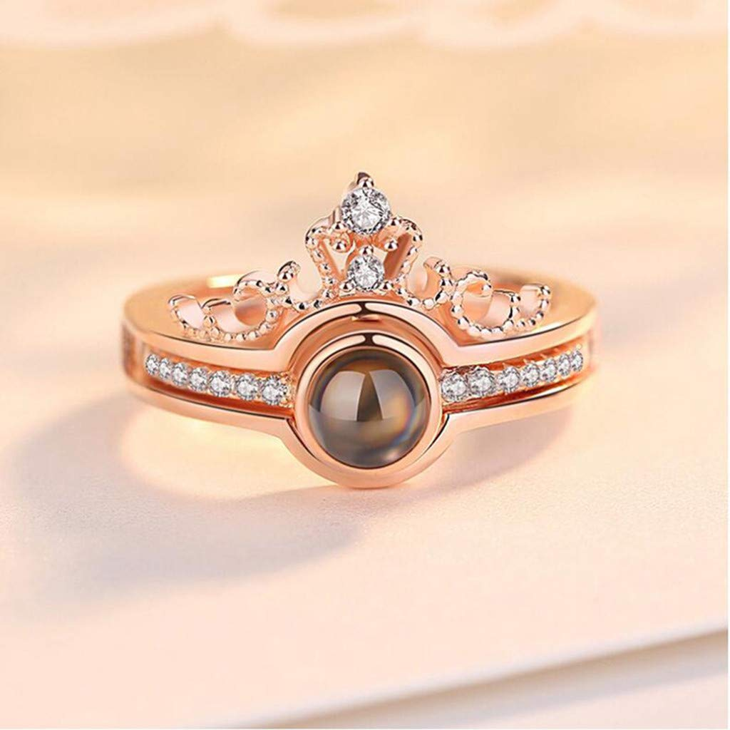 Wedding Rings for Women Engagement Ring Set 925 Sterling Silver Kalinyer Ring Bands for Women
