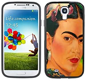 Frida Kahlo Handmade Samsung Galaxy S4 Black Bumper Hard Plastic Case by supermalls