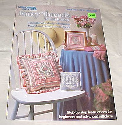 Needlepoint Candy (Fancy Threads (2 Needlepoint Designs Featuring Pulled and Drawn Thread Works Step-by-step Insturctions for Beginners and Advanced Stitchers) By Leisure Arts Leaflet 311 Craft 1984)