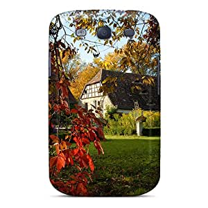 Cute Appearance Cover/tpu LDi4709yFsC Autumn At Schloss Muhr Am See In Germany Case For Galaxy S3