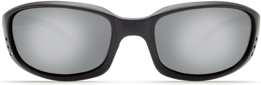 Costa Brine Plastic Frame Grey Silver Mirror Lens Unisex Sunglasses BR11OSGGLP