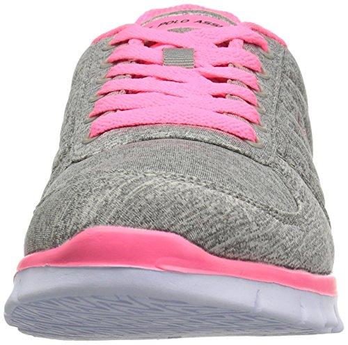 U Assn Celina J Polo Grey S Women's Pink Oxford Hot vqrwvg4a