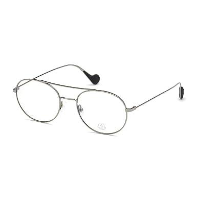 bajo precio 2ddb9 18556 MONCLER ML5046 014 - Gafas de vista redondas, color gris ...