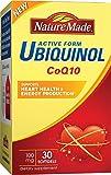 Nature Made Ubiquinol CoQ10 100 Mg Softgel, 30 Count