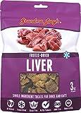 Grandma Lucy's Freeze Dried Liver SINGLES Pet Treats – 3oz