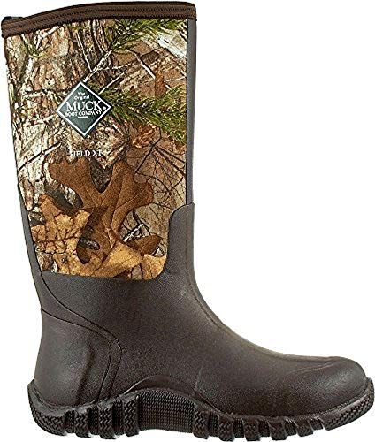 Muck Boots Men's Waterproof Fieldblazer Realtree Xtra Rubber Hunting Boots (Realtree Xtra / 10 D(M) US)