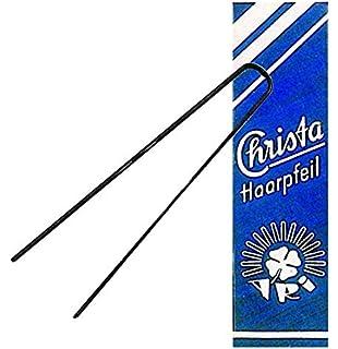 ARI Gloria Haarpfeil SCHWARZ 90 mm 10 St.