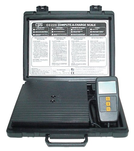 Compact Refrigerant Scale (CPS Products CC220 Compact High Capacity Charging Scale)