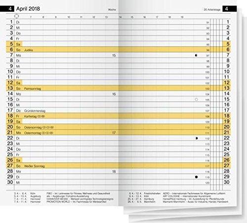 2018 Rido PlankalenderMiniplanerErsatzkalender d15 7045600 Rido/idé