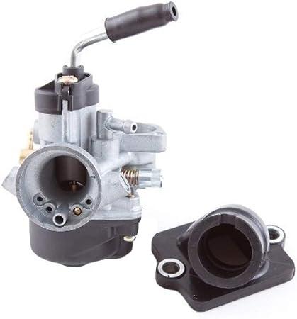 Collecteur dadmission carburateur 17,5/mm avec Dispositif pour E de Choke Piaggio