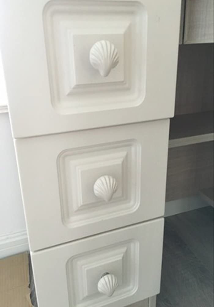 4 Cabinet Knobs for Dresser Drawers Cabinet Handles Pulls for Home Office Cupboard Gorgeous Floral Fragrance