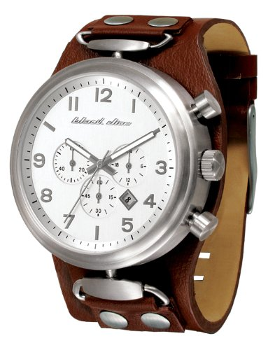 Rookie Men's Watch with Brown Band by Black Dice