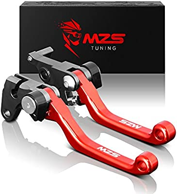JFG RACING Billet MX Short Clutch Lever Perch For For Honda CR125 CR250 CRF250 CRF450 2 fingers